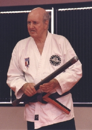 Michael DePasquale Sr. visiting Ju-Jitsu Dojo of Columbia and instructing in hanbo